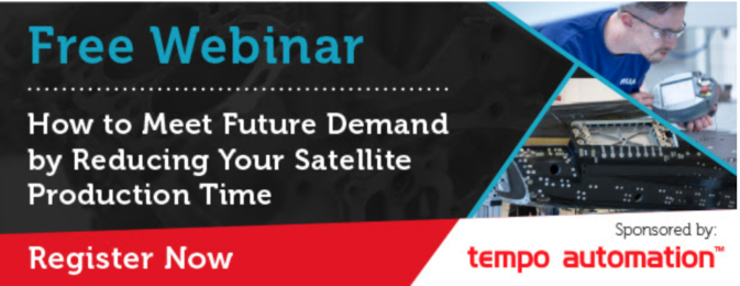 "SpaceTech Expo Webinar ""How to Meet Future Demand by Reducing Your Satellite Production Time"""