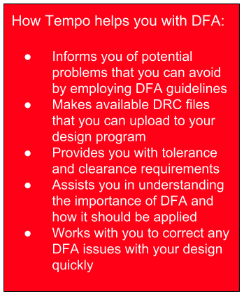 How Tempo helps you with DFA