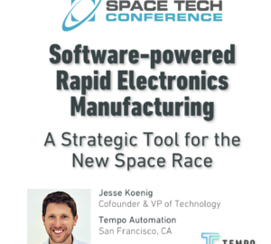 Tempo Presented as a Strategic Solution at Space Tech 2018