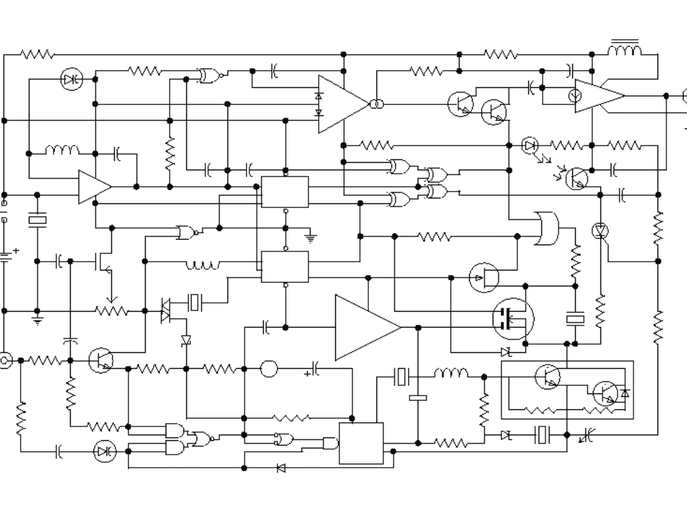 Upclose look at circuitry