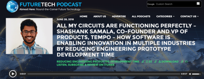 Shashank Samala talks on FutureTech Podcast