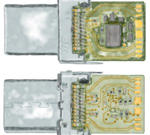 Tom's Circuits – PC Board Layout for USB-C Connectors