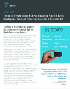 Spire, Inc. Case Study with Tempo Automation