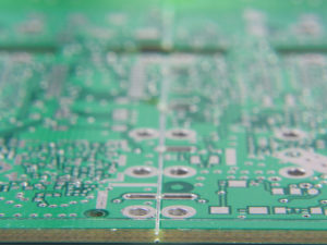 V-scoring a PCB panel