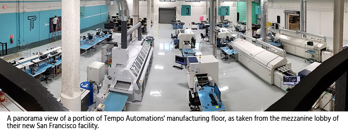 Tempo Automation's factory floor.