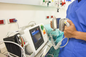 Testing a defibrillator