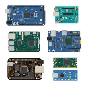 Common PCB connector types