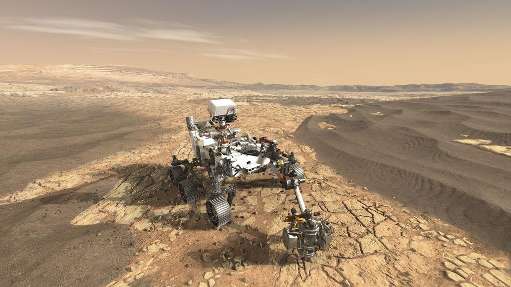 JPL Mars Rover 2020