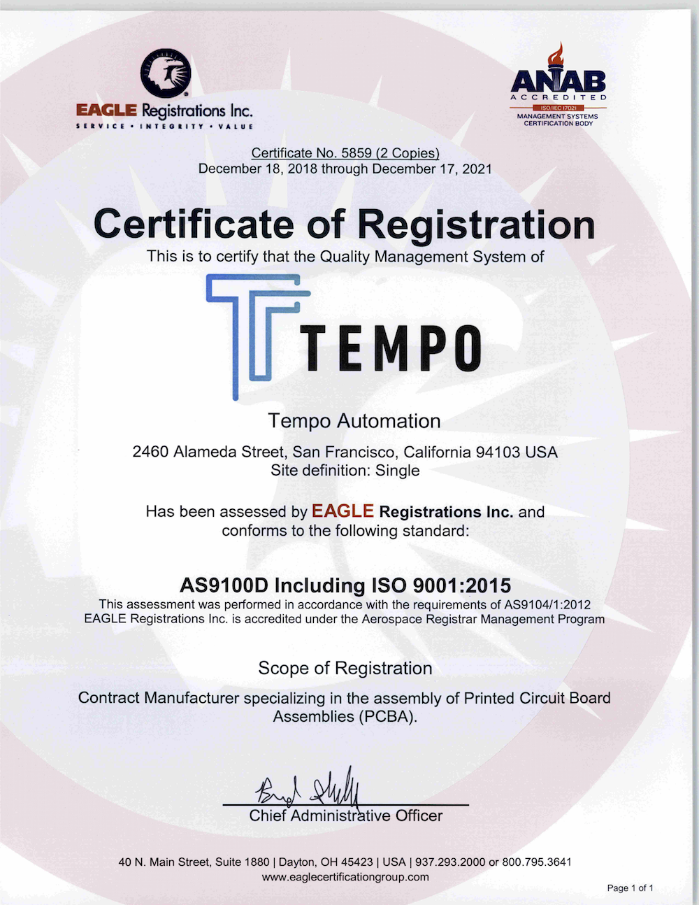 5859 Tempo Automation AS 9100 w QMS 121818