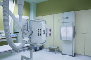 Medical equipment that uses radiation