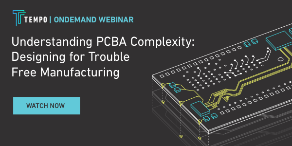Webinar PCBA Manufacturing Complexity