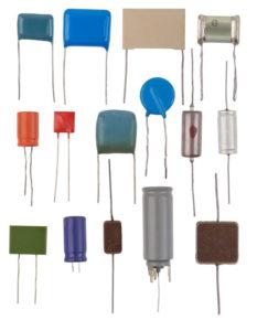 Different capacitors