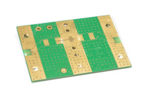 Bottom layer of printed circuit board