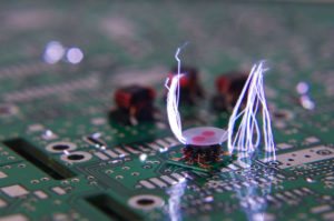 Circuit board arcing