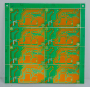PCB panelization is used to manufacture smaller boards at high volumes.