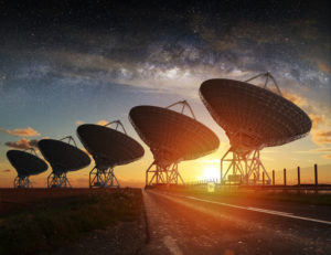 Listening for signs of extraterrestrial intelligence