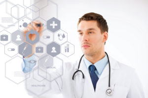 Concept of advancing technology in healthcare