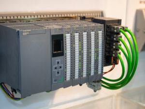 PLC motor controller