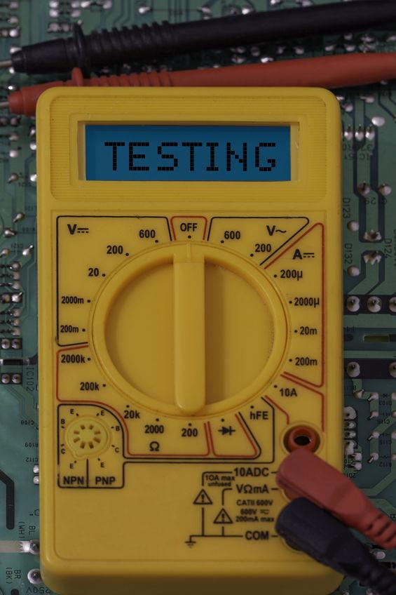 Multimeter for testing circuit boards