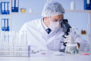Medical laboratory cleanliness measures