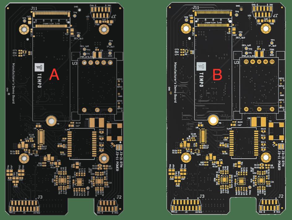 Example of PCBA digital twins