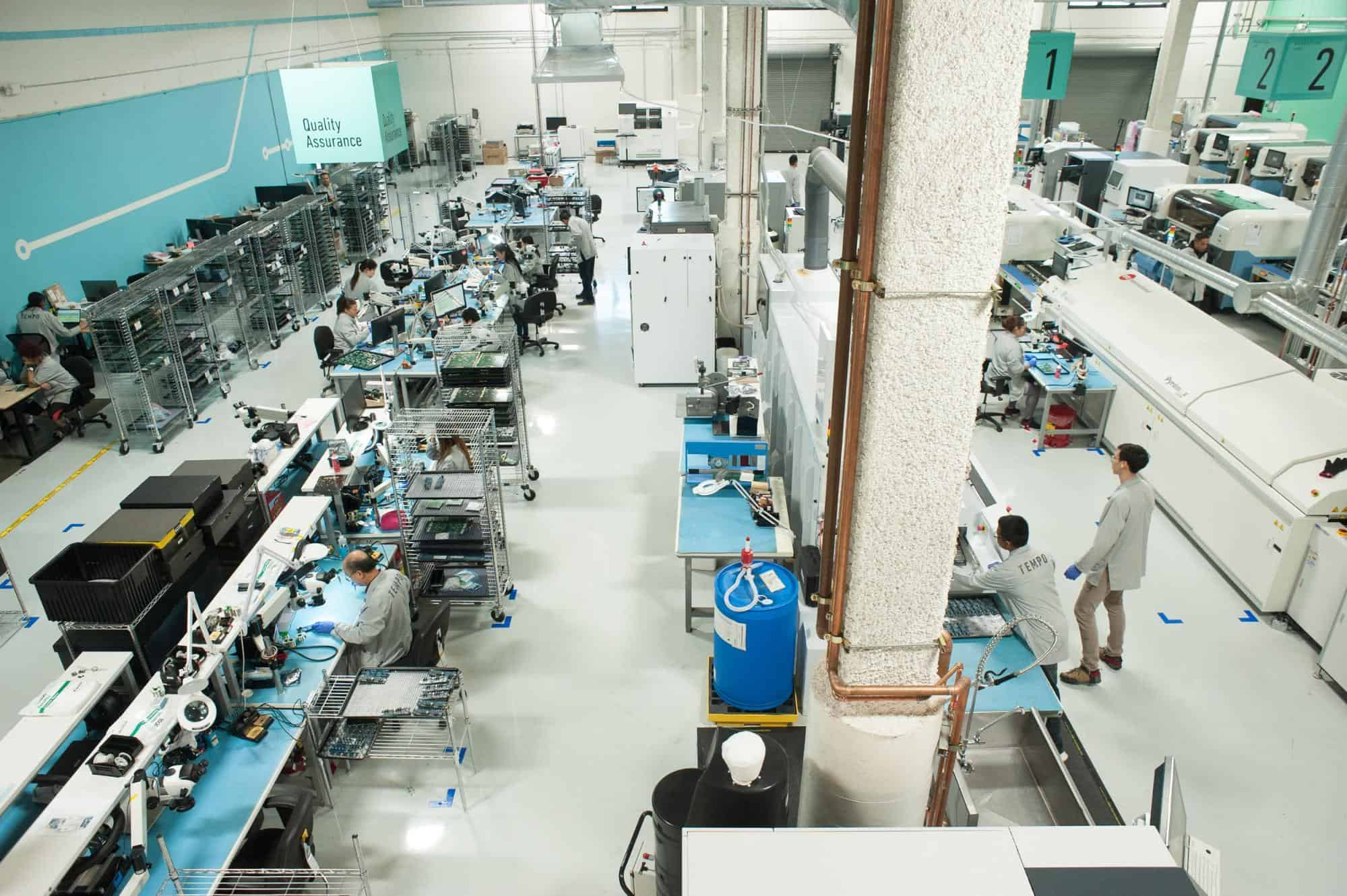 Fully operational PCBA manufacturing facility