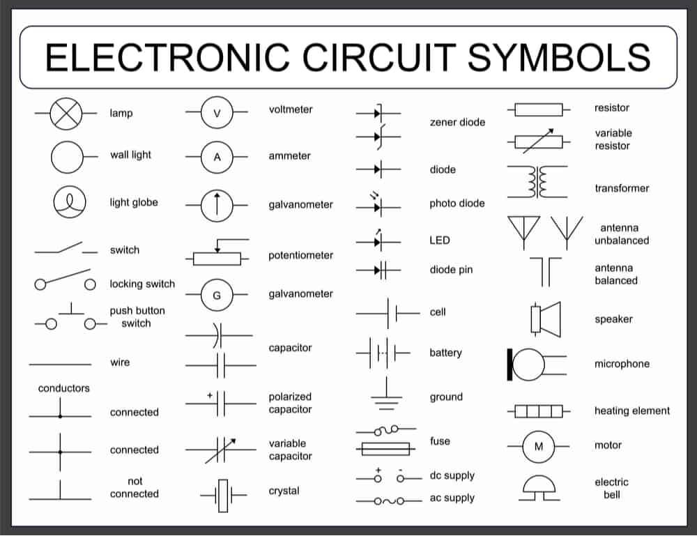 电子电路符号
