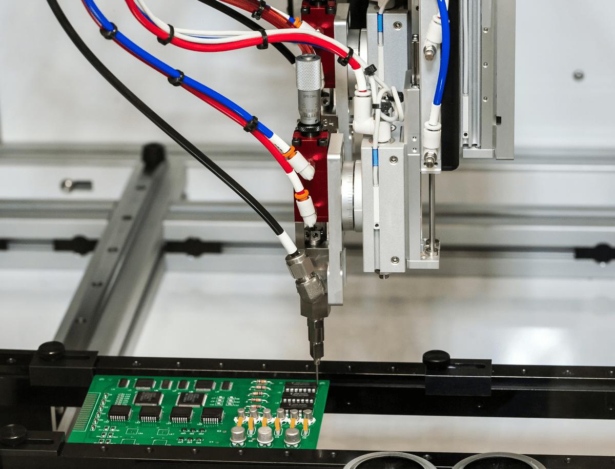 Robotic conformal coating machine for aerospace corrosion protection