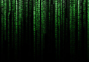 42196227 - matrix (computer generated symbols on black backdrop)