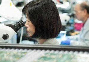 Visual PCBA inspection